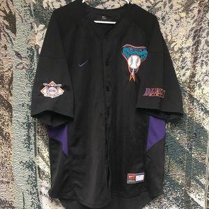 Vintage Arizona Diamondbacks Nike Baseball Jersey